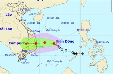 Dự báo thời tiết: Hôm nay áp thấp nhiệt đới mạnh lên thành bão