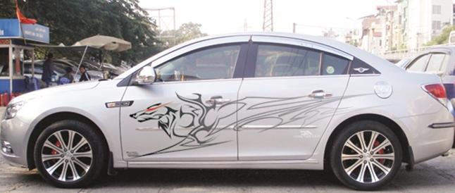 trang trí xe ô tô tại daklak