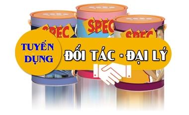Nhà phân phối sơn Spec Go Green Phú Yên tuyển dụng đại lý chiếc khấu cao.