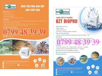 Men vi sinh xử lý đáy ao BZT Biopro Khánh Hòa
