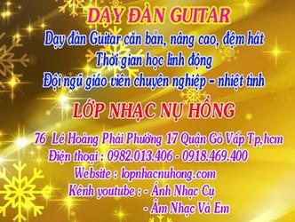 Địa Điểm Học Đàn Guitar ở tại Quận Gò Vấp