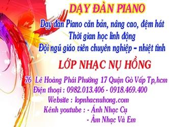 Lớp học piano cho người lớn TPHCM