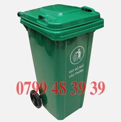 Thùng rác 120l 240l giá rẻ lh 0799.48.39.39