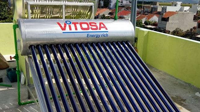 Máy nước nóng năng lượng mặt trời Tuy Hòa - Phú Yên