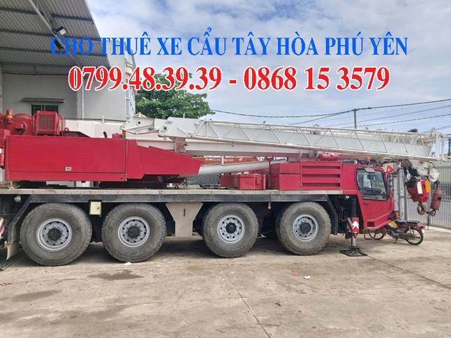 0868.15.3579 Cho thuê xe cẩu xe cẩu Tây Hòa Phú Yên
