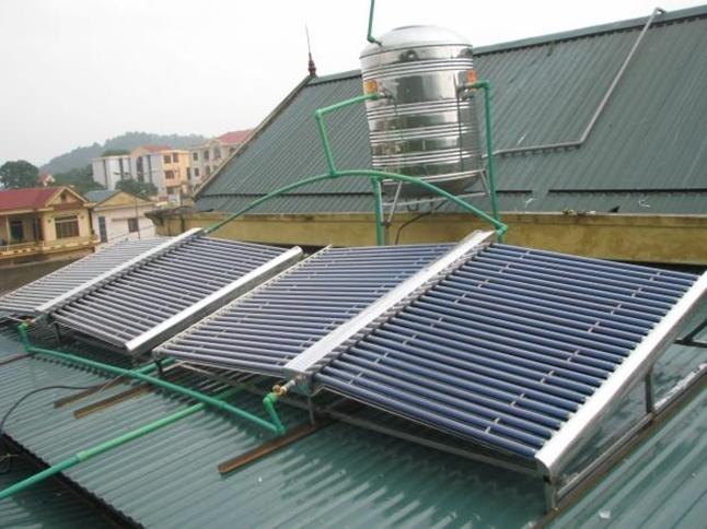 Máy nước nóng năng lượng mặt trời Tuy An - Phú Yên