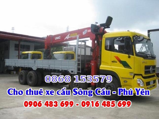Xe cẩu Sông Cầu - Cho thuê xe cẩu Sông Cầu, Phú Yên