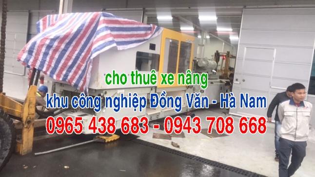 Cho thuê xe nâng khu công nghiệp Đồng Văn Hà Nam