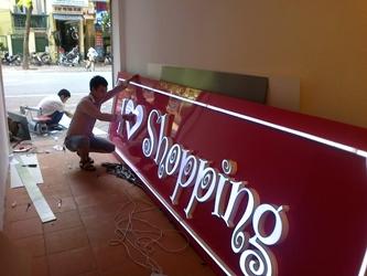 Làm hộp đèn bảng hiệu tại Phú Yên - cơ sở in bạt quảng cáo, làm hộp đèn bảng hiệu quảng cáo tại phú yên.