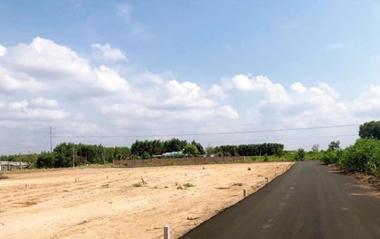 Bán đất thổ cư xã Láng Dài Bà Rịa – Mặt tiền QL55 Vòng xoay Đất Đỏ