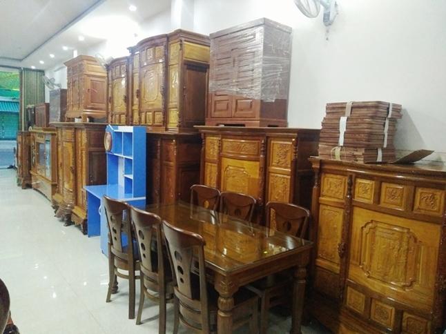 cửa hàng đồ gỗ nội thất phú yên