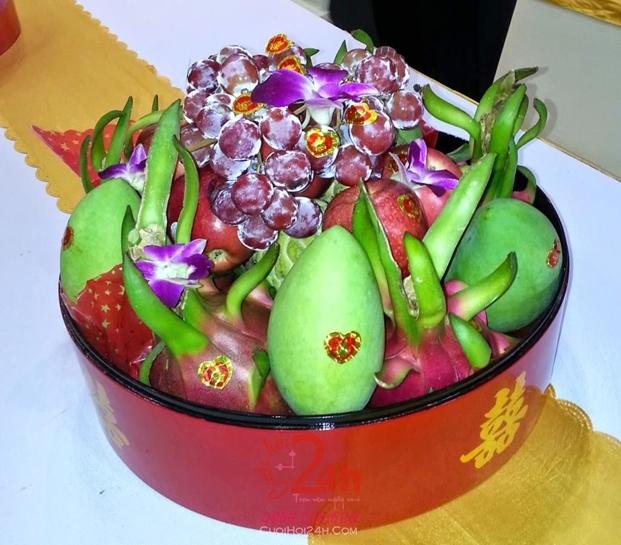 cho thuê mâm quả cưới tại daklak