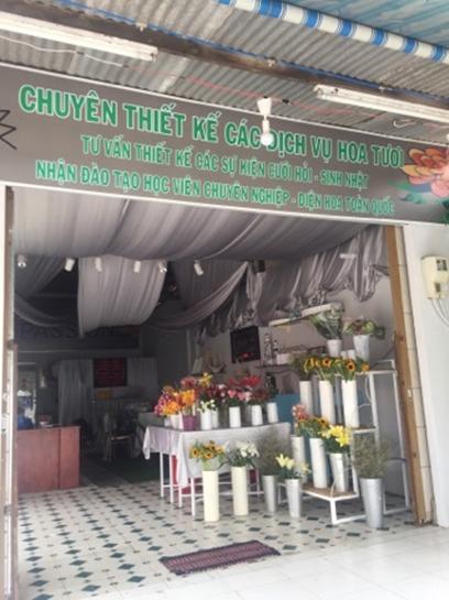 không gian shop hoa tươi bạc liêu